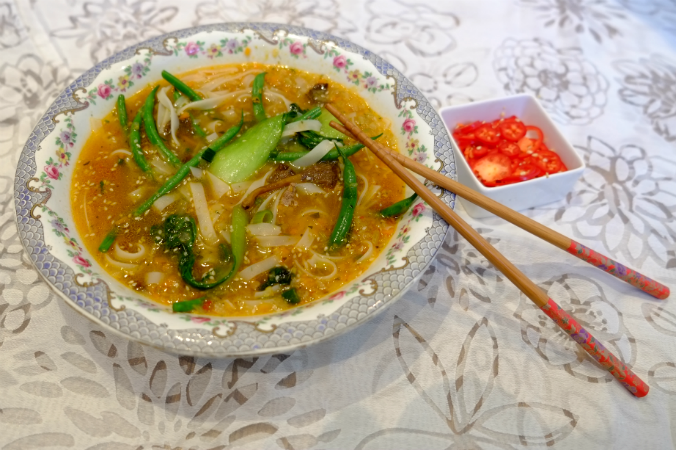 how to cook pho bo
